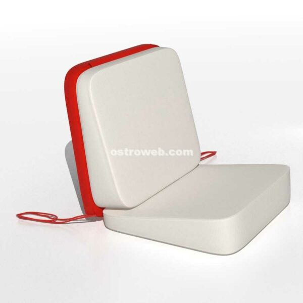Poltroncina Sundeck Nautica Ostroweb Nemo Red Mix